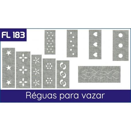 Cartela FL 183 - Réguas para vazar