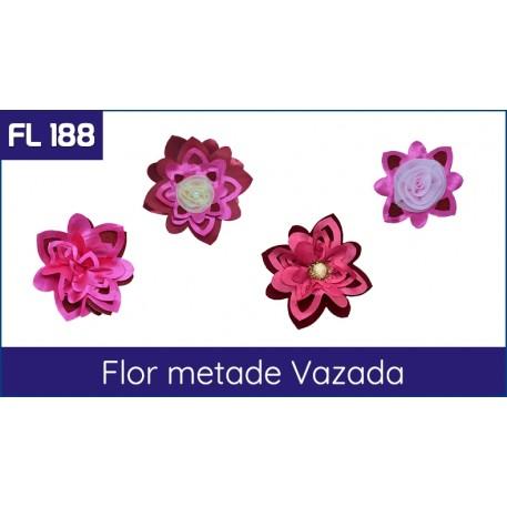 Cartela FL 188 - Flor metade vazada