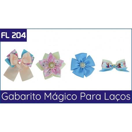 FL 204 Gabarito Mágico Para Laços