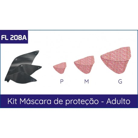 Kit de Mascaras Adulto