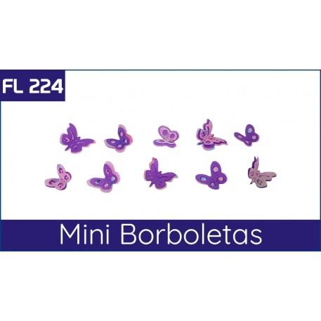 FL 224 Molde para fazer mini borboletas