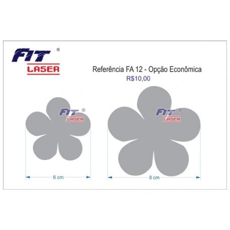 FA 12 - Flor 5 pétalas redonda