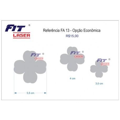 FA 13 - Flor 4 pétalas