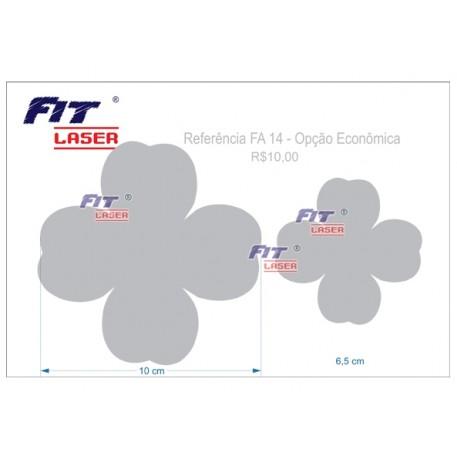 FA 14 - Flor de 4 Pétalas