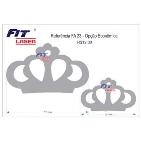 FA 23 - Coroas vazadas