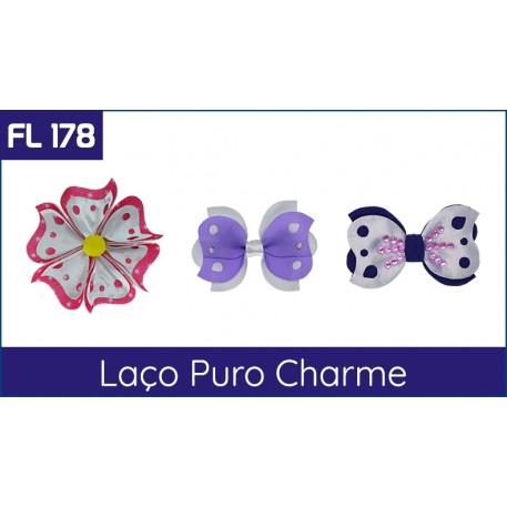 Cartela FL 178 - Laço Puro Charme