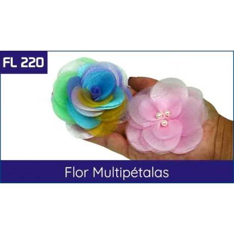 Capa Flor Multipétalas