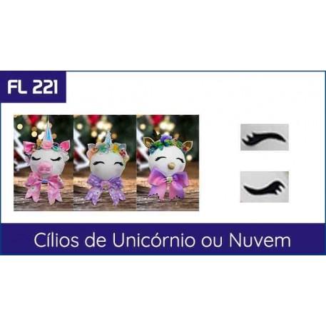 FL 221 - Cílios de Unicórnio ou Nuvem