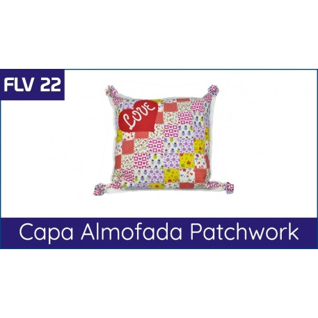 FLV 22 - Almofada Patchwork Love