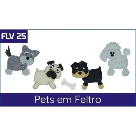 FLV 25 - Pets em Feltro