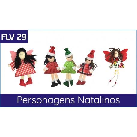 FLV 29 - Personagens Natalinos