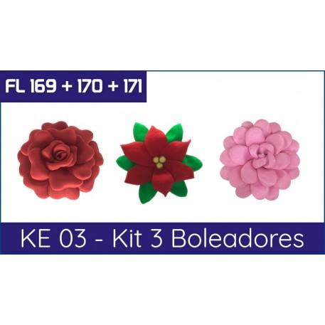 KE 03 - Kit 3 Boleadores + Brinde
