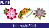 FL 149 - Flor Kanzashi