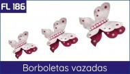 Cartela FL 186 - Borboleta Vazada