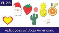 Aplicacoes para Jogo Americano