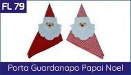 FL 79 Porta Guardanapo de Papai Noel