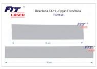 FA 11 - réguas