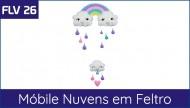 FLV 26 - Nuvens em Feltro