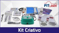 Fit Laser Flor & Arte Kit Criativo