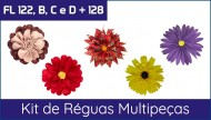 Kit de Réguas Multipeças - 122, 122B, 122C, 122D e 128