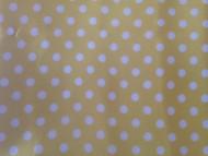 Poá Amarelo Bola Branca REF 316