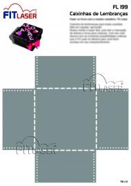 Cartela FL 199 - Caixinha de lembranças