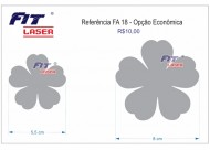 FA 18 - Flor 5 pétalas
