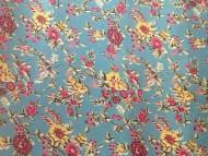 Floral Azul Claro